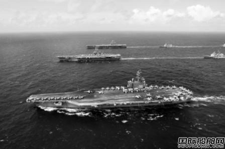 美国海军舰船启用船舶自动识别系统