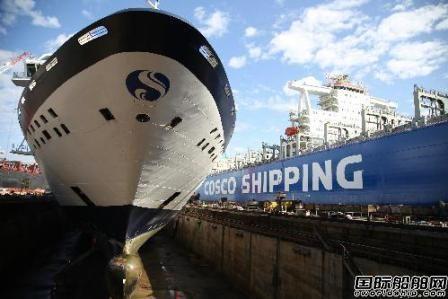 舟山中远船务迎来第二个豪华邮轮修理工程