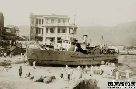 广船国际荔湾船坞最后一艘新船出坞