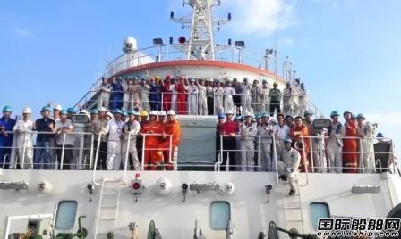 广东中远船务海洋地质十号圆满完成试航