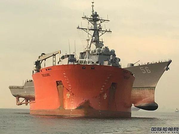 舟山中远船务改装半潜船露脸了!