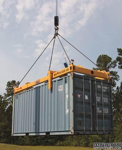 Tandemloc公司推出新的集装箱吊具