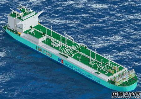 沪东中华将建国内首艘大型LNG-FSRU