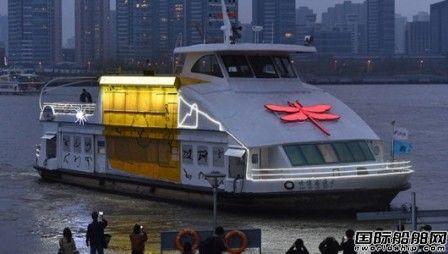 """黄浦江上来了""""虫子船"""""""