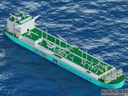中船集团将建中国首艘LNG-FSRU