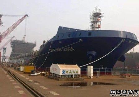 金海智造优化2500TEU集装箱船脱硫塔安装工艺
