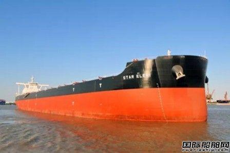 外高桥造船一艘20.8万吨散货船试航归来