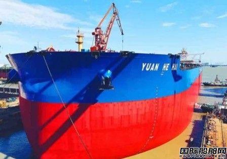 外高桥造船40万吨矿砂船首次大型总段移位成功