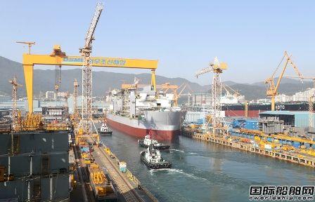 大宇造船连续三个季度获得盈利