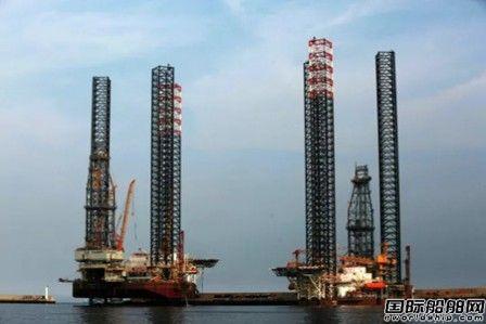 大连中远船务建造自升式平台有效运行时间全球最高