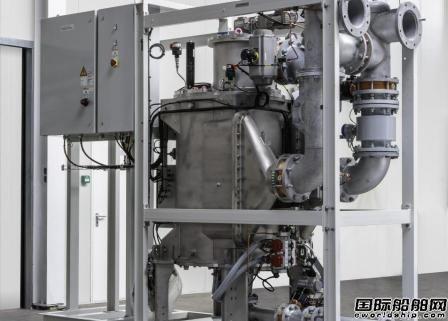 Trojan Marinex压载水系统为南极科考船配套