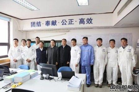 交通运输部部长李小鹏到大船集团调研