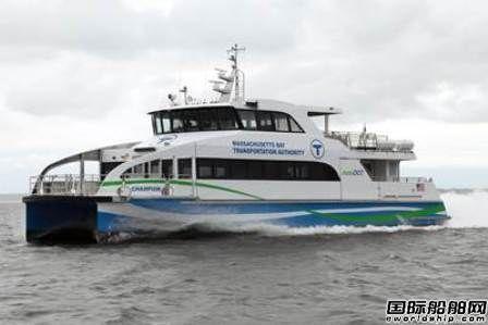 Incat Crowther设计第500艘船下水