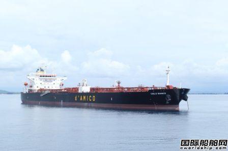 d'Amico首批3艘LR1型油船下水