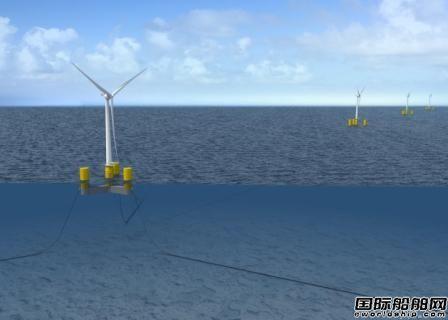 Naval Energies新型浮式风电技术获BV认可