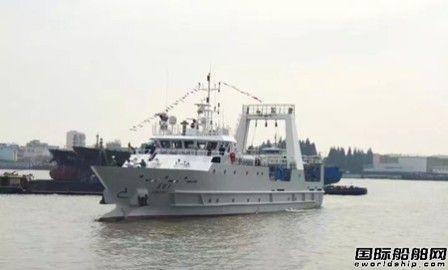 """""""南锋2""""号渔业资源调查船顺利交船"""