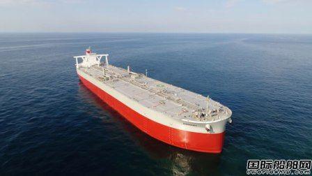 川崎汽船接收一艘VLCC