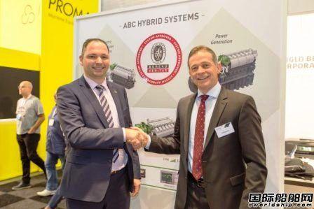 ABC公司混合动力推进系统首获BV批复
