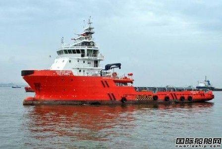 印度国航一艘AHTS在孟买海上沉没