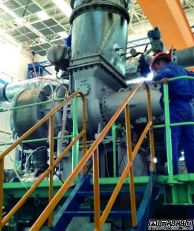 江增重工自主品牌轴流增压器成功匹配低速机