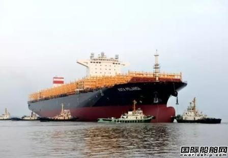全球集装箱船手持订单量将至14年来最低