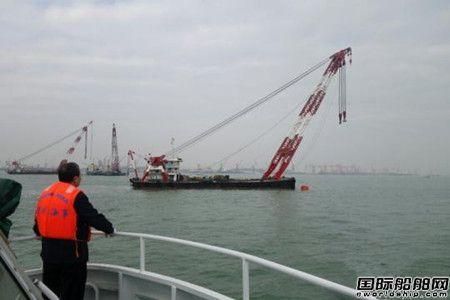 两艘货轮珠江口撞船一船沉没2名船员下落不明