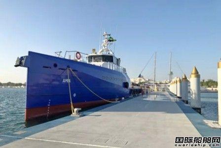 达门集团交付最新一代快速人员运输船