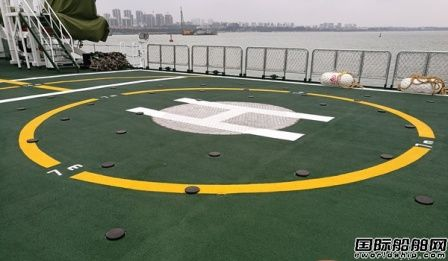 海南省1500吨级海监船正式交付使用