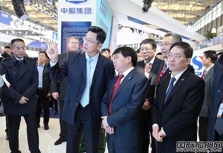 工信部副部长罗文出席中国国际海事会展开幕式