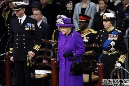 英国皇家海军伊丽莎白女王号航母服役