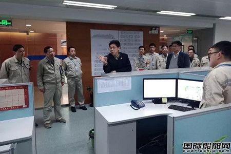 吴强赴外高桥造船调研邮轮准备工作