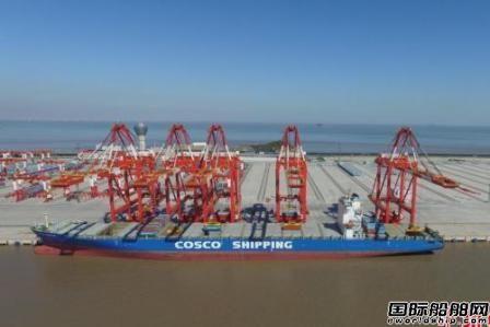 全球规模最大自动化码头洋山四期开港