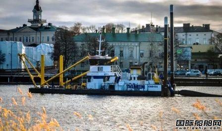 达门向芬兰公司交付一艘绞吸式挖泥船