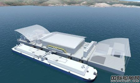 英国BMT研发小型LNG FSRU概念