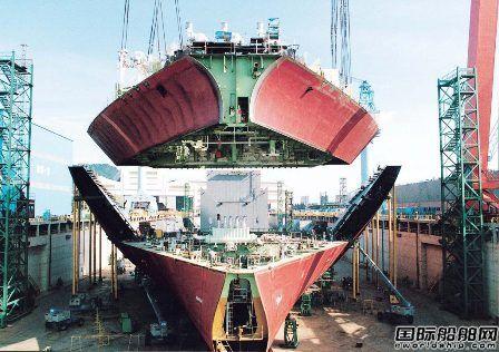 中国船企逆势反超锁定年度接单量冠军