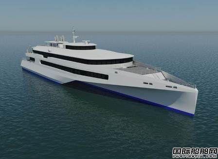 Austal与日本船东研发高速三体客渡船概念