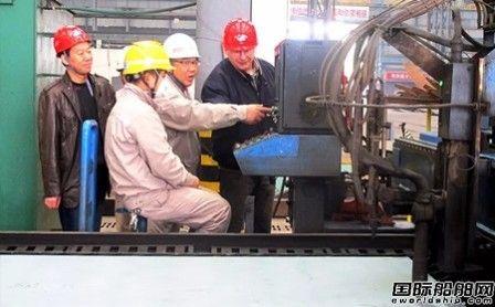 马尾造船两艘1162TEU集装箱船开工