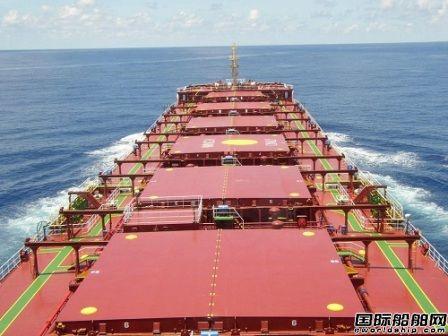 年关将至好望角型散货船运价下跌