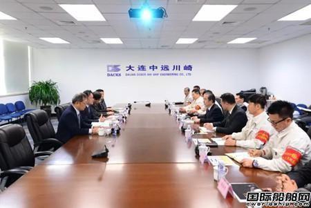 川崎重工移师中国做强中远川崎