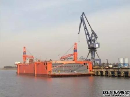 华润大东交付韦立国际5000吨浮船坞