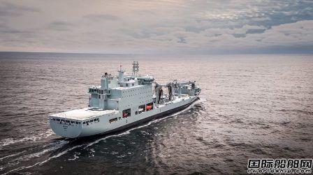 Davie造船交付加拿大最绿色军船