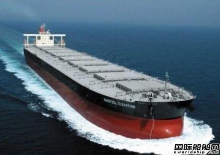 国银租赁订造5艘Newcastlemax型散货船