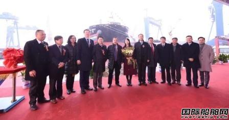中船澄西交付2018年首船迎来开门红