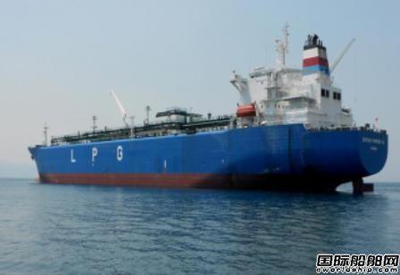 德路里:小型LPG船2018年表现最佳