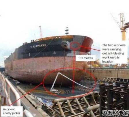 裕廊船厂因安全事故再遭罚款