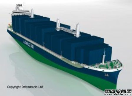 Deltamarin与GTT合作设计LNG动力船