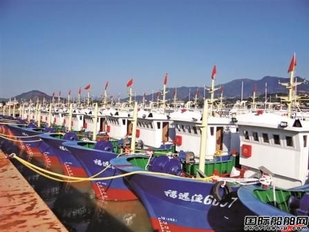 恒生重工新年连续下水25艘渔船