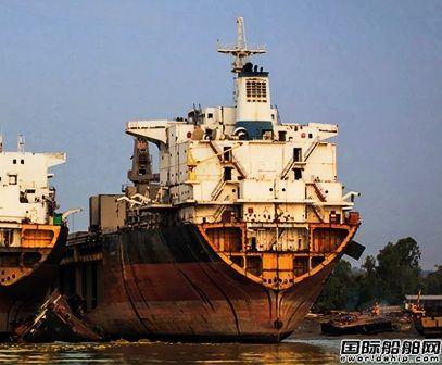 拆船价格大涨!2017年油船拆船量增加4倍