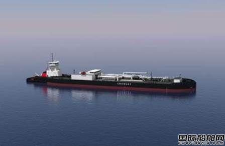 Crowley订造1+1艘铰接式拖船/驳船