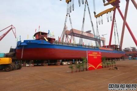 荷兰打造欧洲首艘电池动力内河集装箱船